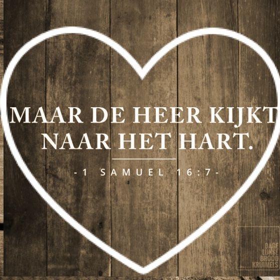 1 Samuël 16:7