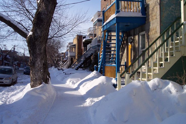 My hometown - Montreal in the winter