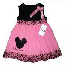 Vestidos Para Niñas De Vestir- Minnie, Hello, Peppa, Monkey