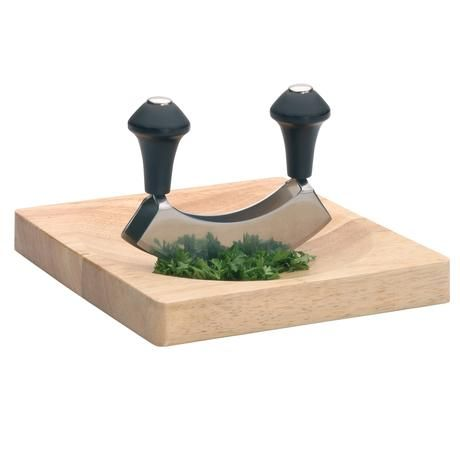 We love anything that makes chopping easier! Perfect for getting frest herbs and spices the way you want them.