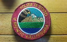 Patch POLIZIA DI STATO 11° REPARTO VOLO PESCARA | eBay