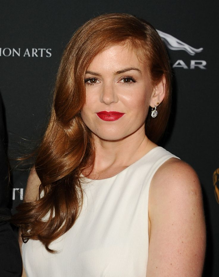 Are you a natural redhead who simply wishes to intensify her (already wonderful) hair color? Follow Isla Fisher's lead and amp up your hue by heading to the salon for a red color gloss. Maintain your lovely color with a gentle redhead-specific shampoo like Bumble and Bumble Color Support Shampoo and Conditioner for True Reds.  - GoodHousekeeping.com
