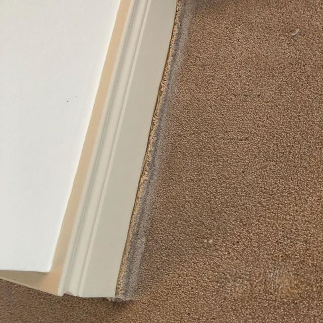 We Were Asked To Look At A Carpet Fitted By Another Firm A Few Years Back Very Lumpy And Wasnt Wearing Very Well Once We Pu Carpet Fitting Flooring Banbridge