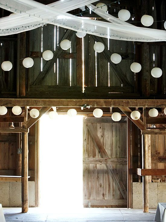 Marvelous For A Rustic And Casual Wedding Reception, A Decorated Barn Is The Perfect  Venue: