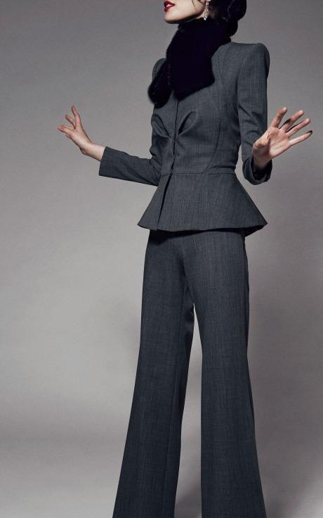 Zac Posen Pre-Fall 2014 Trunkshow Look 19 on Moda Operandi