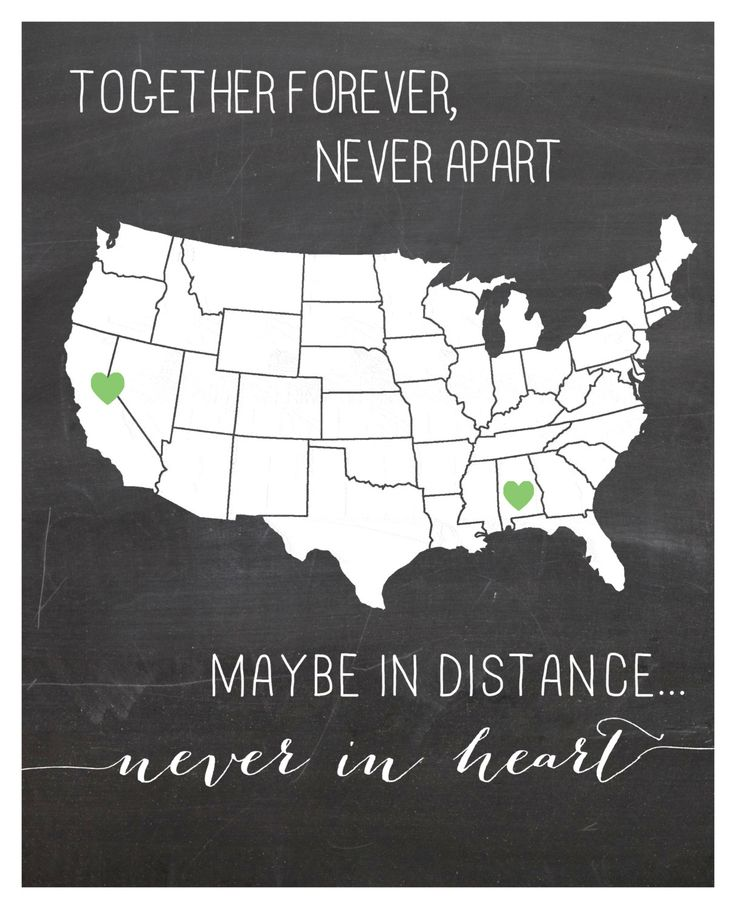 Want this!! CUSTOM Long distance relationship love quote print 8×10. $22.00, via