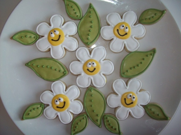 happy Daisy cookies