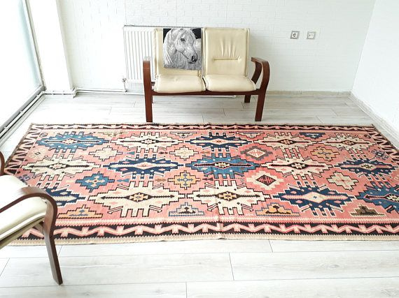 Hey, I found this really awesome Etsy listing at https://www.etsy.com/listing/491368968/kilim-rug-turkish-kilim-rug-pink-rug