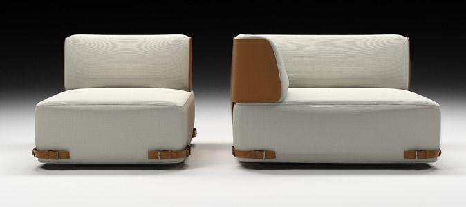 mobilier chic et griffé | soho, fendi and armchairs - Fendi Sofa