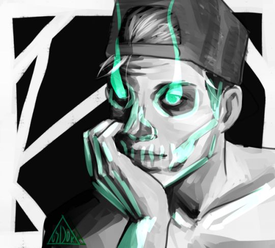 dang clique we're getting better   twenty one pilots // josh dun // clique art