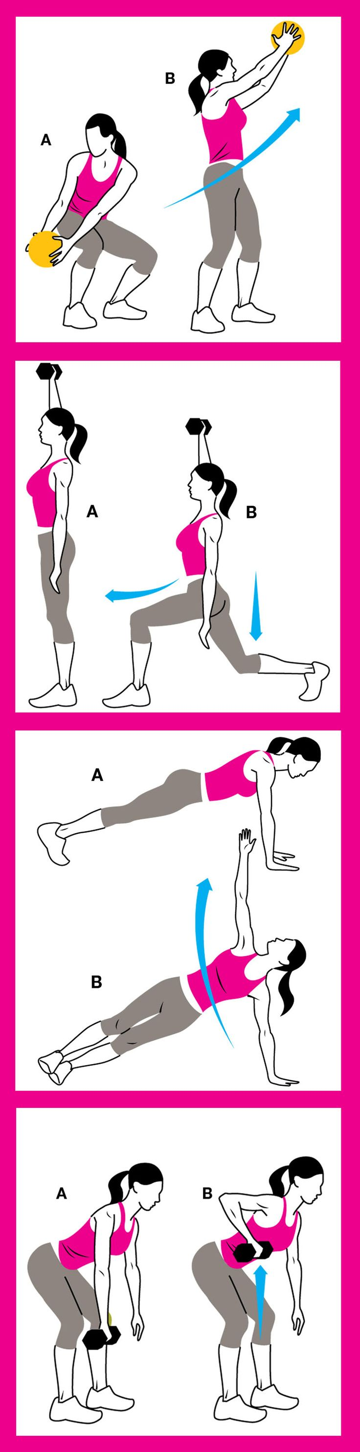 4 Moves That Guarantee Abs in 6 Weeks