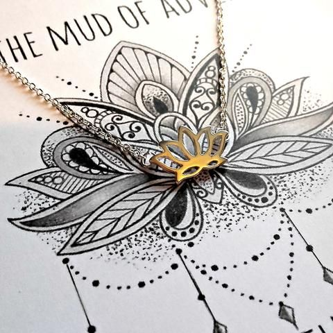 Lotus Keepsake Necklace