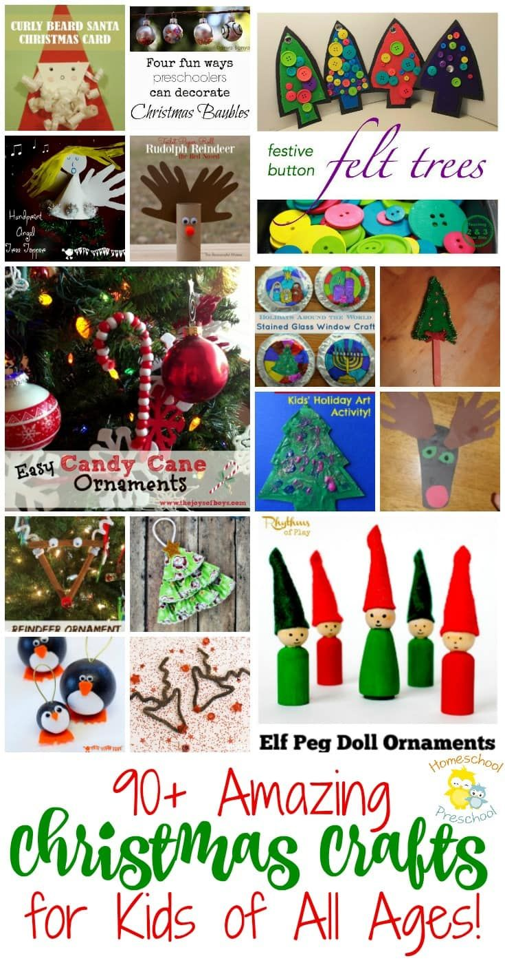 11 best christmas learning activities for homeschool for Christmas crafts for little ones
