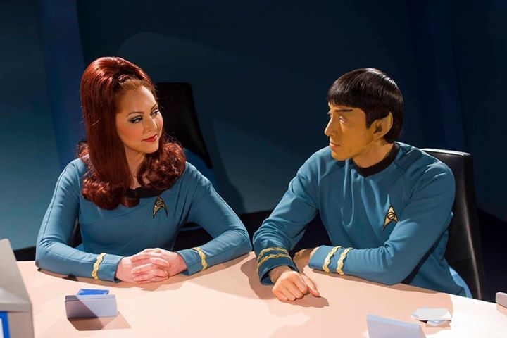 Star Trek Continues  Mr Spock and Dr McKennah (Michele Specht & Tom Haberkorn)