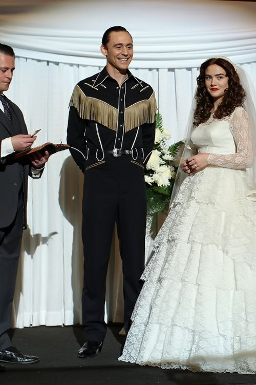 Tom Hiddleston as Hank Williams in I Saw The Light and Maddie Hasson as Billie Jean in I Saw The Light. Full size image: http://ww2.sinaimg.cn/large/6e14d388gw1ewv8g0c9hpj218g0rpqhn.jpg Source: The Boot http://theboot.com/i-saw-the-light-movie-photos/