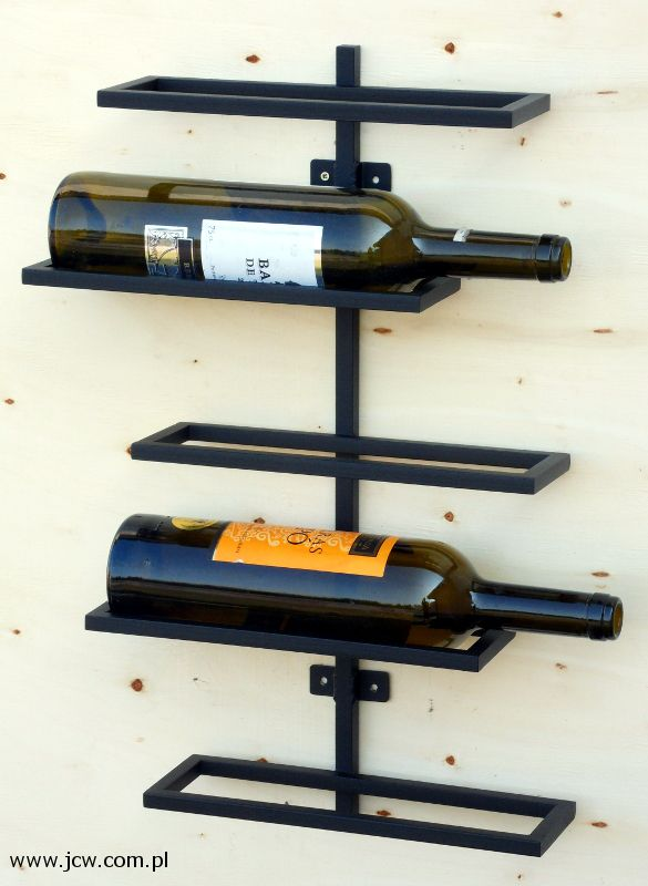 Wine rack, Material: Powder Coated Steel  www.jcw.com.pl