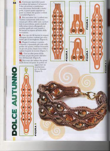 minták - Györgyi - Picasa Web Albums free bead weaving pattern #herringbone #tubular