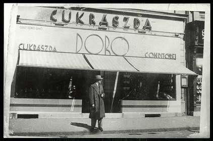 Miskolc Doró cukrászda | Képeslapok | Hungaricana