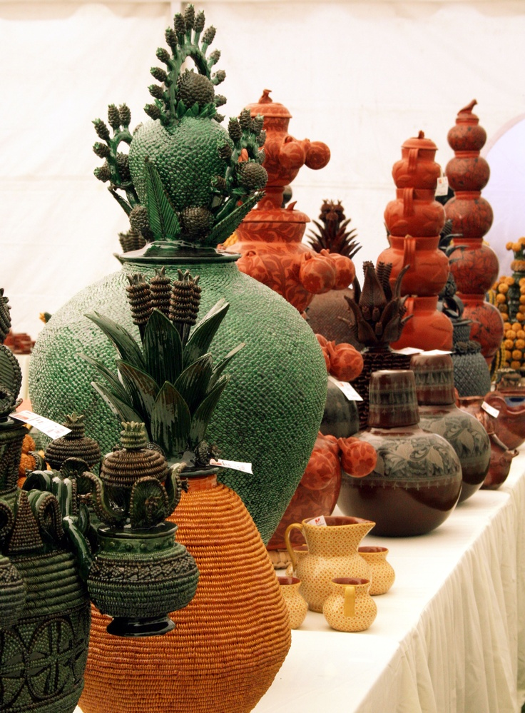 Mexican decor: it takes hours of intricate work to make these Michoacan Mexican ceramics. They are amazing.