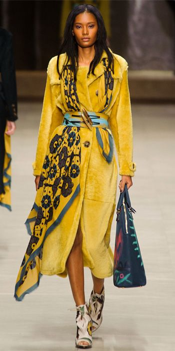 Runway Looks We Love: Burberry Prorsum - Burberry Prorsum from #InStyle