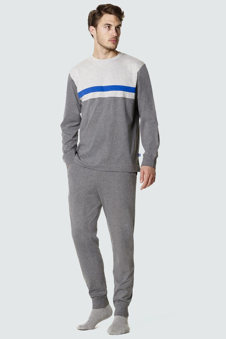 Pijama invierno hombre Punto Blanco modelo  Megabyte