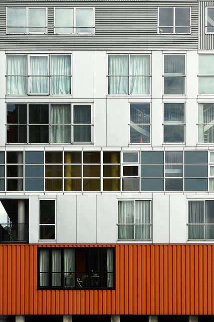 Silodam - Architect: MVRDV Location: Amsterdam, Netherlands taken in 2012.
