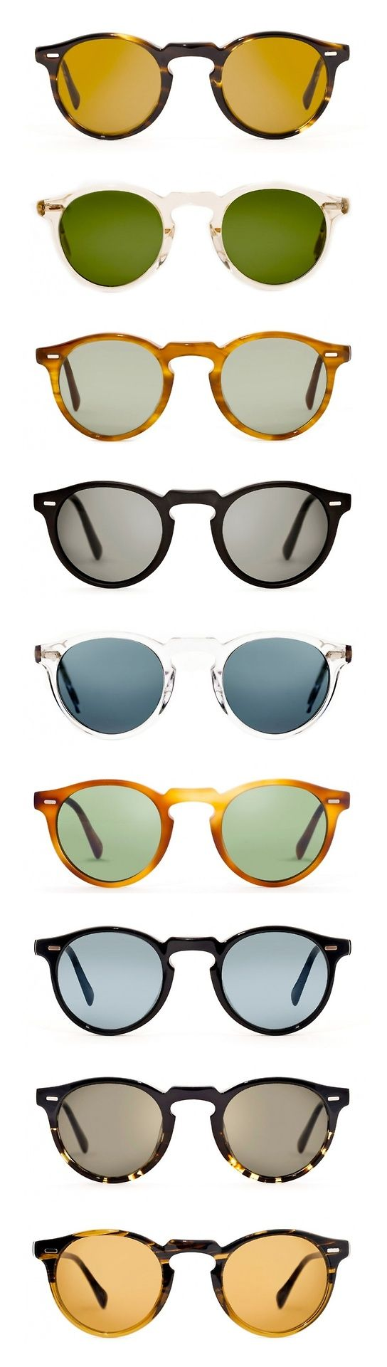Gregory Peck sunglasses are the perfect shape for so many faces. Available exclusively at our Cambridge location!