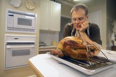 All of Alton Brown's Thanksgiving recipes in one place, including his famous Good Eats Roast Turkey + Brine recipe.