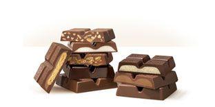 Ritter Sport chocolates...dangerously good.