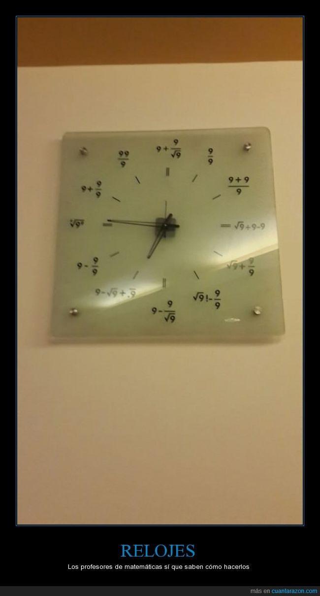 El peor reloj del mundo si eres de letras