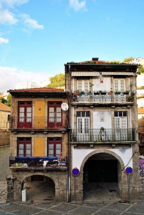 Casas medievais de Miragaia