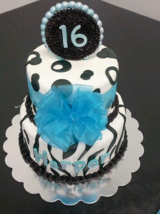 1000 Images About 16th Birthday Cakes For Girls On