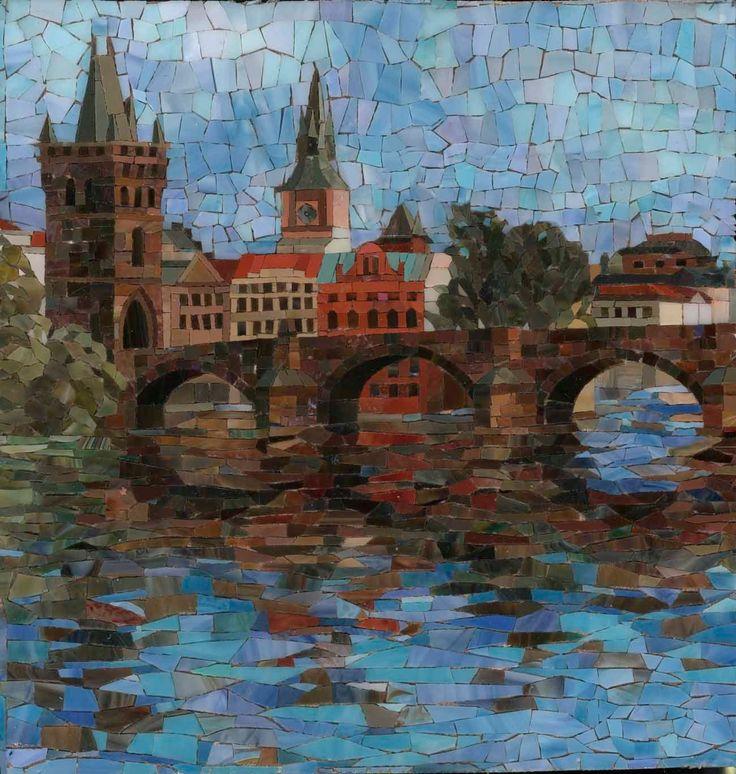 Mosaicos pinterest mosaicos for Mosaico ceramica