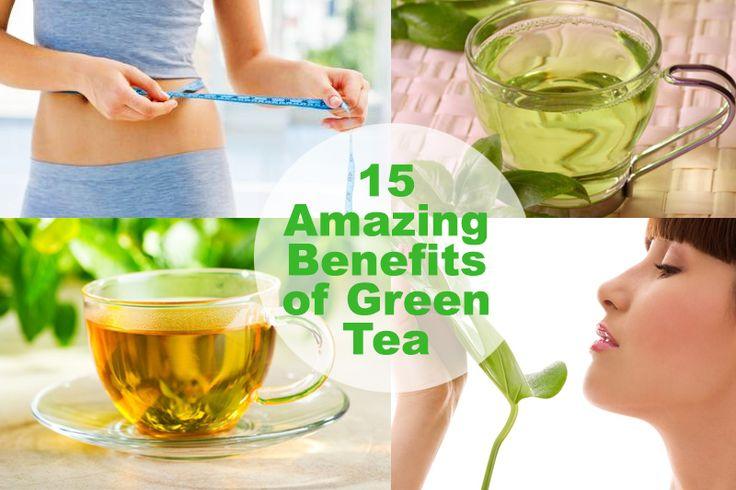 15 Avantages étonnants du thé vert