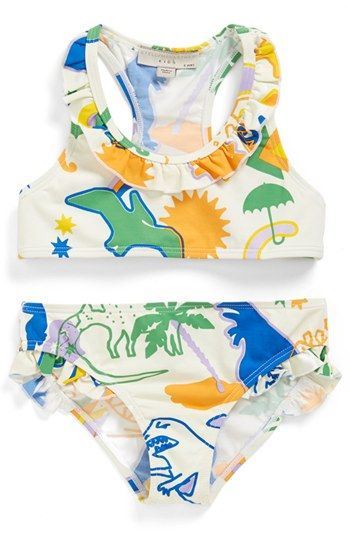 Stella McCartney Kids 'Koko' Two-Piece Swimsuit (Toddler Girls & Little Girls) available at #Nordstrom