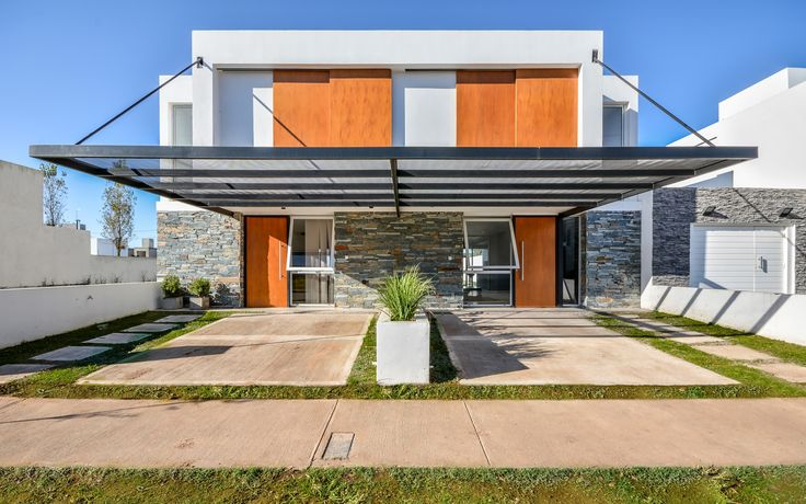Casas Adosadas,© Gonzalo Viramonte