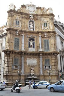 Quattro canti Palermo Sicilia, Italy