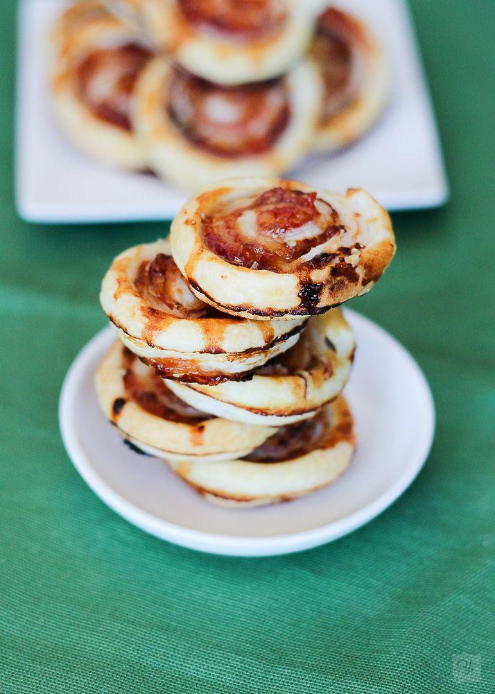 Espirales de tomate y queso