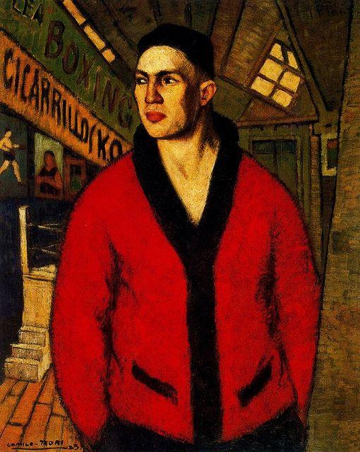 Mori, Camilo (1896-1973) - 1923 El boxeador (National Museum of Fine Arts, Santiago, Chile) by RasMarley, via Flickr