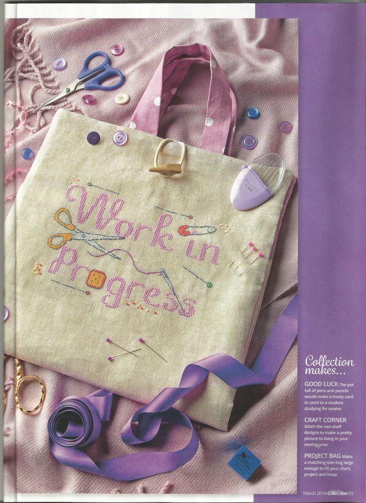Project bag - Jenny Barton