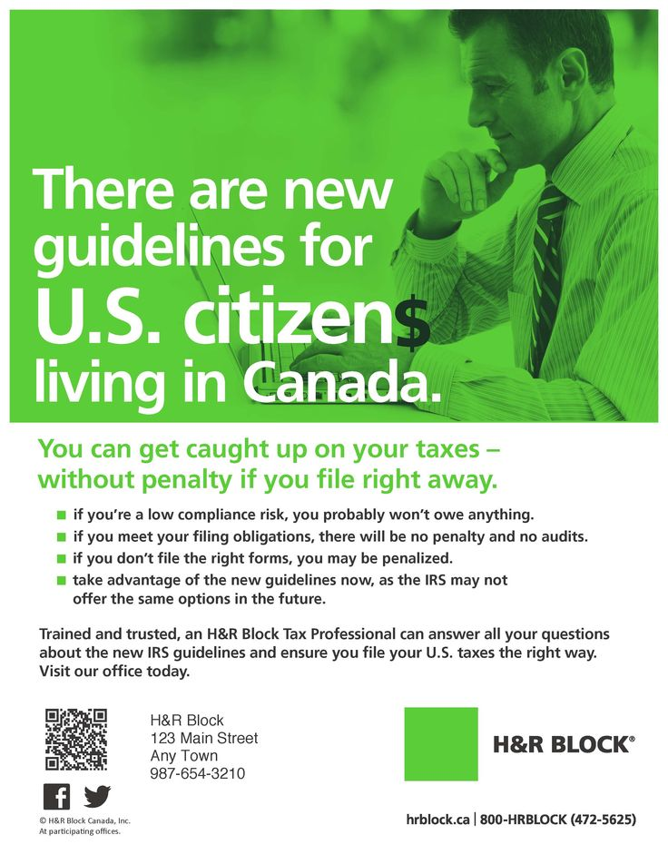 R Flyers H&R Block flyer...