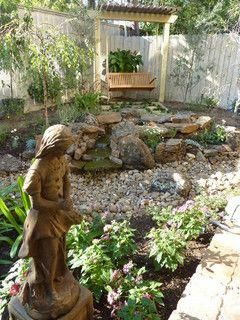 Arroyo Rock Garden In River Oaks Outdoors Ideas Pinterest