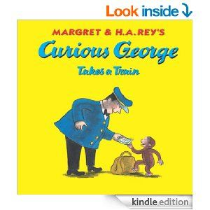19 best train themed books for kids images on pinterest baby books curious george takes a train kindle edition by h a rey margret rey martha fandeluxe Images