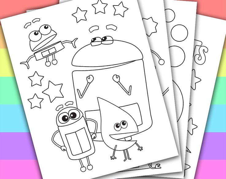 30 Best Coloring & Activity Sheets Images On Pinterest