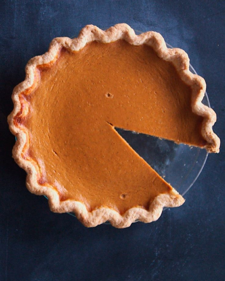 Perfect Pumpkin Pie | Martha Stewart Living - Canned pumpkin puree is quick and easy to use. Don't substitute fresh pumpkin puree; it will be too watery.