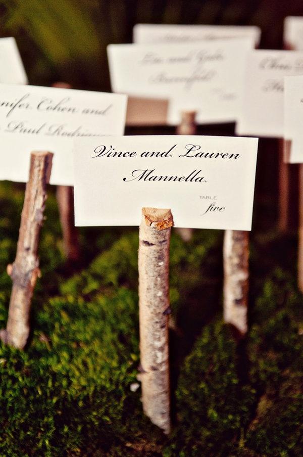 wood wedding card holders%0A rustic wood escort card holders