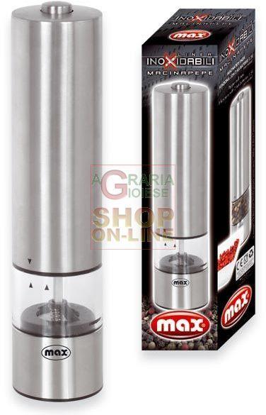 MAX MACINAPEPE INOXIDABILI https://www.chiaradecaria.it/it/max/11631-max-macinapepe-inoxidabili-8017365021153.html