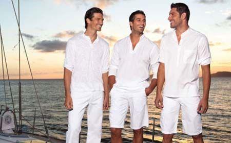 Looks masculinos para o Réveillon – Arrase de branco na noite de ano novo. Inspire-se nos famosos