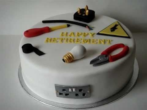 Electrician Retirement Cake Cakes Pinterest