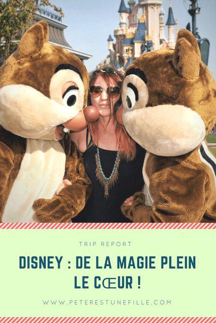 De la magie plein le coeur ! Viens découvrir mon trip report de mon séjour à Disneyland Paris ! A lire sur http://peterestunefille.com